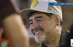 Dorados se impone 4-1 sobre los Cafetaleros de Tapachula en el debut de Maradona