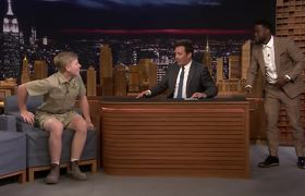 Kevin Hart Is Terrified of Robert Irwin's Animals