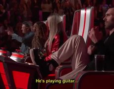 The Voice 2018 - Michael Lee Shocks with B.B. King's