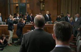 Kavanaugh accuser Ford arrives for Senate hearing
