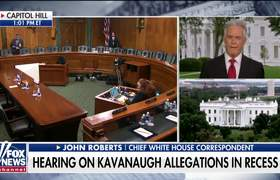 White House holding back judgment on Kavanaugh hearing