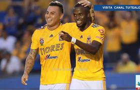 Tigres aplasta 4-0 al Puebla y lo elimina de la Copa MX
