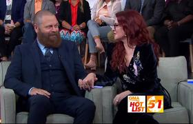 Megan Mullally and Nick Offerman share their relationship secrets
