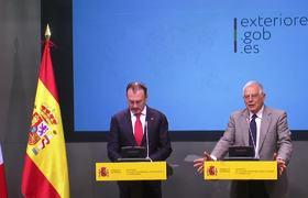 Rueda de prensa con Luis Videgaray, canciller de México
