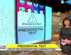 Americans to receive cellphone alert from president in 1st national test