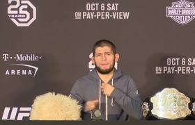 Khabib Explains Post Fight Brawl With Conor McGregor's Team After UFC 229