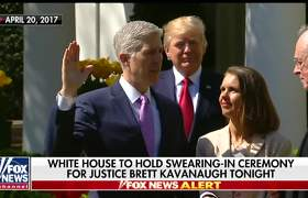 Justice Kavanaugh to be publicly sworn in at White House