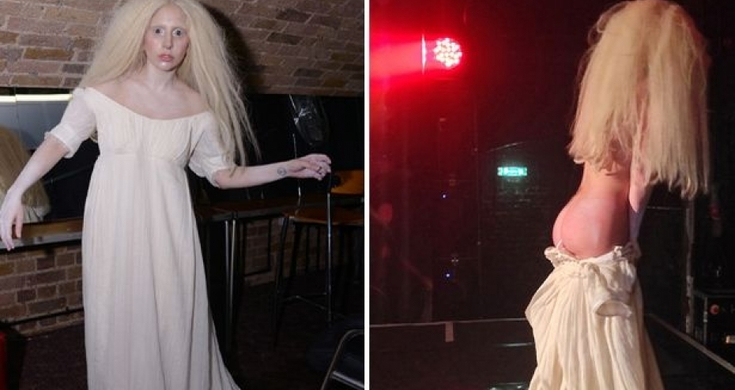 Lady Gaga Gets Naked In Stage During Live Concert - Videos - Metatube-2588