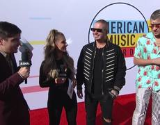 Bad Bunny and J Balvin Red Carpet Interview - AMAs 2018