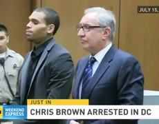 Case Chris Brown charged with assault in DC