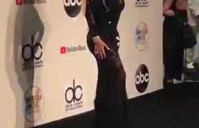 Mariah Carey In AMAs 2018 Red Carpet