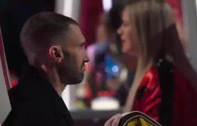 The Voice 2018 - RADHA Floors Adam Levine with Jessie J's