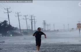 Hurricane Michael Barreling Down On Florida