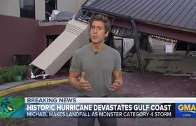 Record-breaking hurricane Michael slams Florida Panhandle