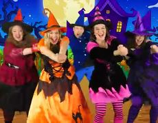Witches on Halloween - Kids Halloween Song