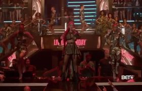 Cardi B Performs 'Get Up 10' And 'Backin' It Up' With Pardison Fontaine