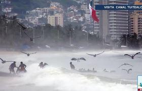 Huracán Willa categoría 4 se acerca PELIGROSAMENTE a costas de Jalisco y Nayarit