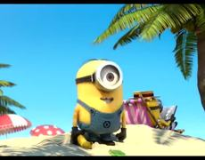 Despicable Me 2 Official Movie CLIP Stuart Takes a Dip 2013 HD Steve Carell Sequel