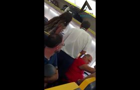 #VIDEO: Racist man insults woman of color and asks to change her seat
