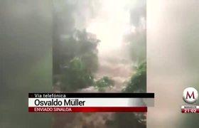 Hurricane 'Willa' touches land in Sinaloa