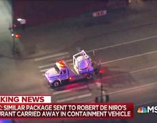 Breaking News: Suspicious Package Similar To Pipe Bombs Sent To Robert De Niro