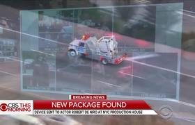 Suspicious package sent to NY hotel owned by Robert De Niro