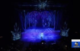 GMA: Behind-the-scenes of the Broadway hit 'Frozen'