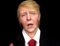 Tutorial to make up like Donald Trump on Halloween