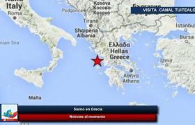 Alerta de Tsunami en Grecia por Sismo 7 Richter