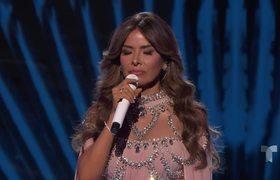 Gloria Trevi rompe en llanto al recordar su pasado | Latin AMAs 2018