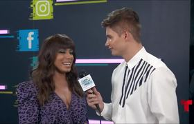 Anitta celebra su primer Latin AMA | Latin AMAs 2018