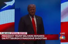 Donald Trump On Synagogue Shooting: There Is 'No Tolerance For Anti-Semitism'