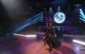 "Evanna Lynch and Keo ""Tango"" - DWTS Week 6: Halloween"