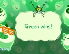 Google Doodle Halloween 2018 Gameplay - TEAM GREEN vs TEAM PURPLE - Win all games