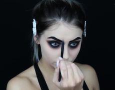 Maquillaje para Halloween de ultimo momento