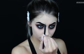 EASY LAST MINUTE HALLOWEEN MAKEUP