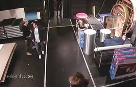 The Ellen Show: Ellen's Backstage Scares Featuring Kris Jenner, Ciara and Her Staff