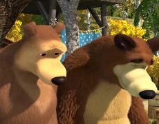 Masha and the Bear - Vintage Festival (Chapter 50) En Español