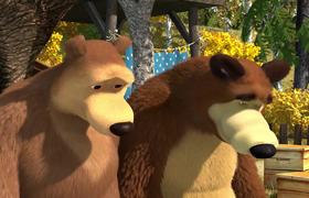 Masha and the Bear - Vintage Festival (Chapter 50) En Español