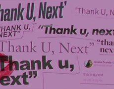 Ariana Grande - thank u, next (OFFICIAL audio)