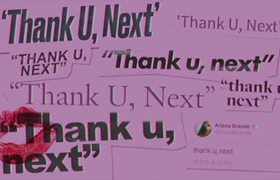 Ariana Grande - thank u, next (OFFICIAL audio)
