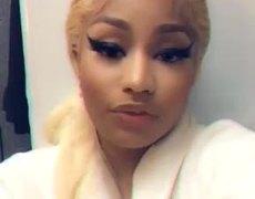 Nicki Minaj Thanks The Fans #MTVEMA 2018