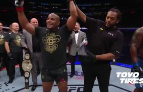 #UFC230: Daniel Cormier Octagon Interview