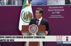 Peña Nieto reconoció la apertura que López Obrador mostró durante la negociación del TMEC