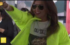 Thalía está en México y sus fans la esperaron dias