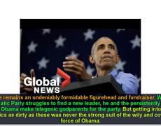 Elecciones 2018: Barack Obama pierde nuevamente