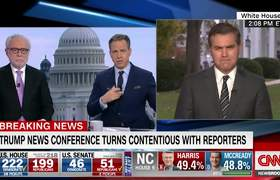 Jim Acosta responds after heated exchange with Donald Trump