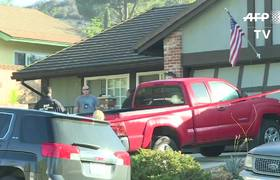 Images of US shooter Ian David Long's house