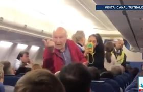 Expulsan a adultos mayores de vuelo de KLM por no entender inglés