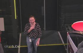 Ellen Scares Her Employee Mackenzie... Again!